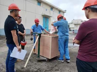 无锡市扎实开展大清查普查期间实施熏蒸作业库点货位的检查